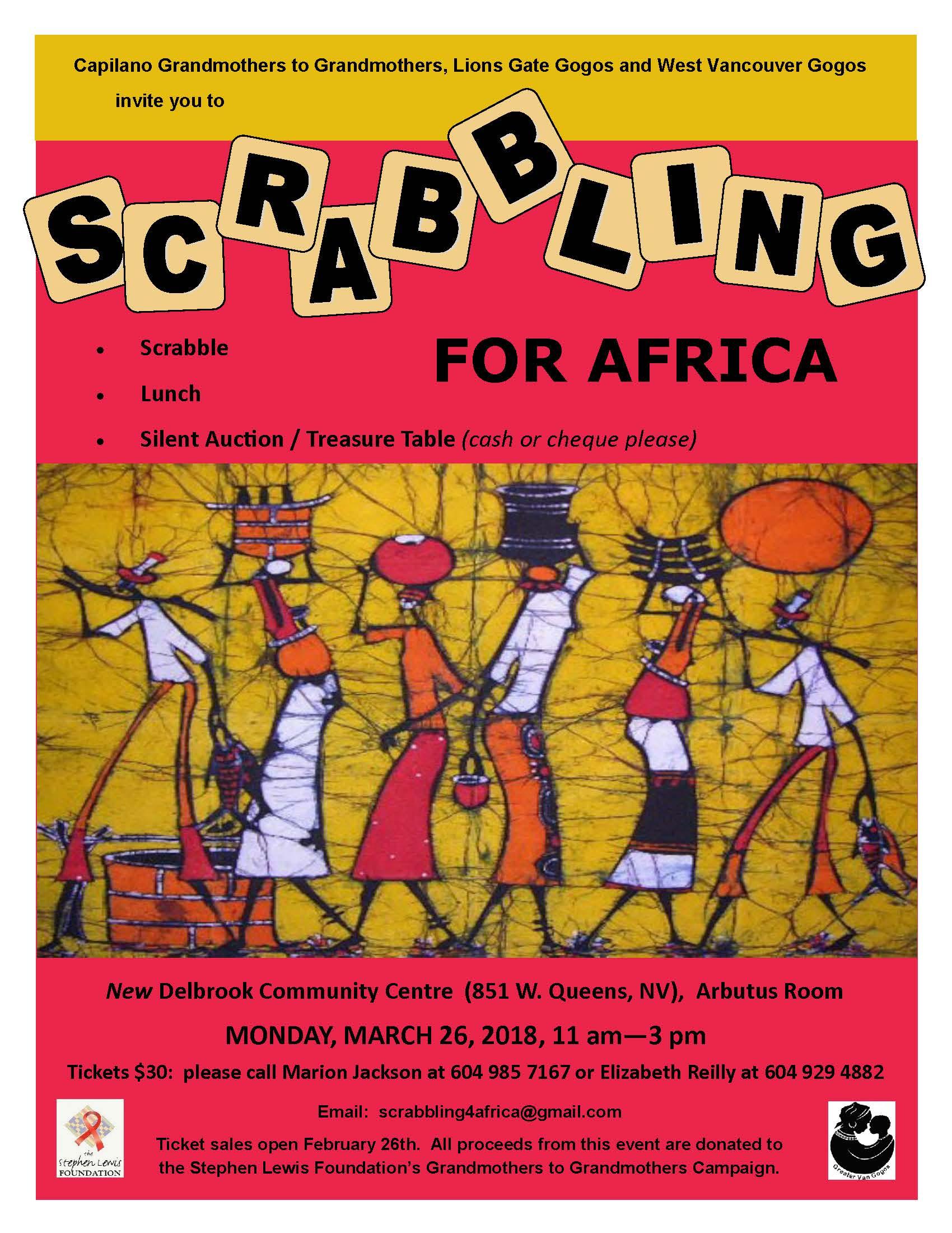 2018 Scrabbling for Africa