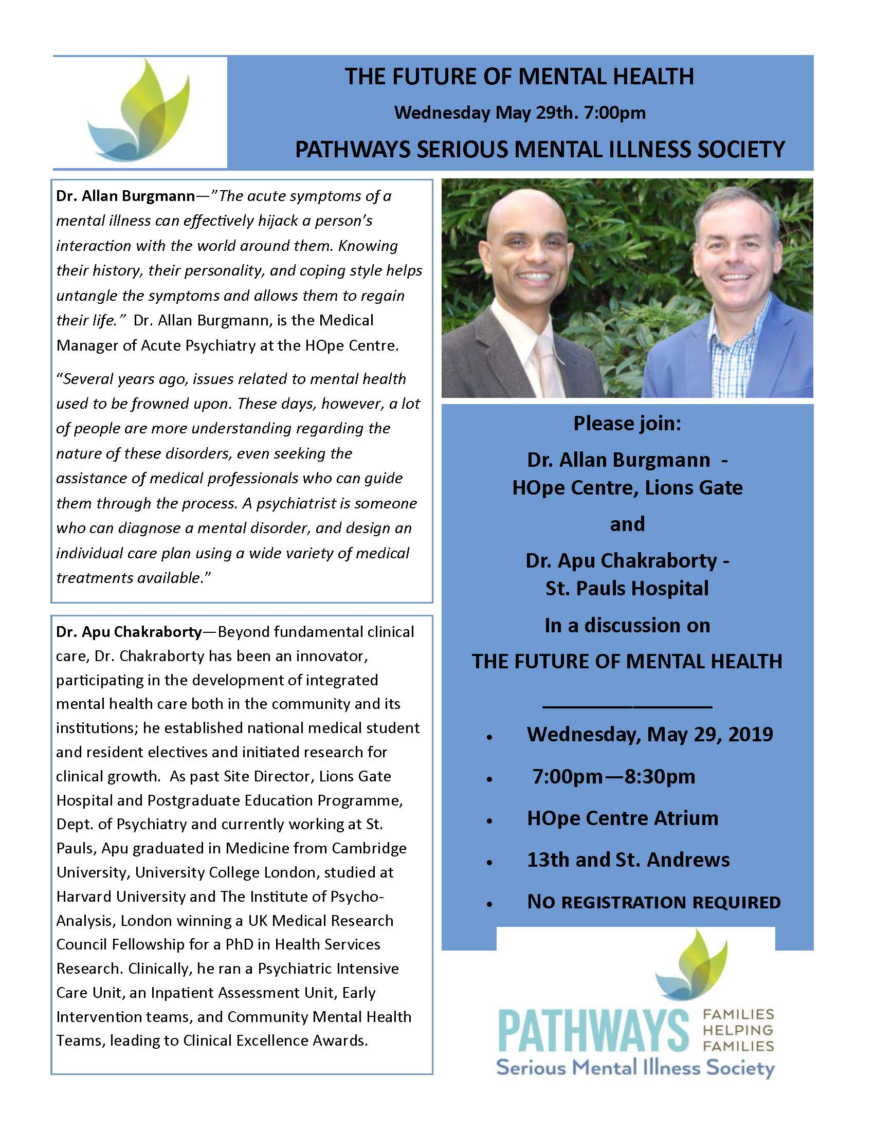 The Future Of Mental Health lecture