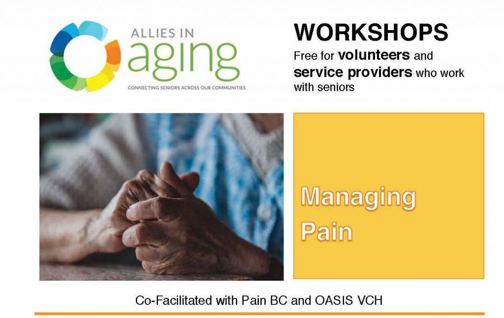 Managing Pain Workshop