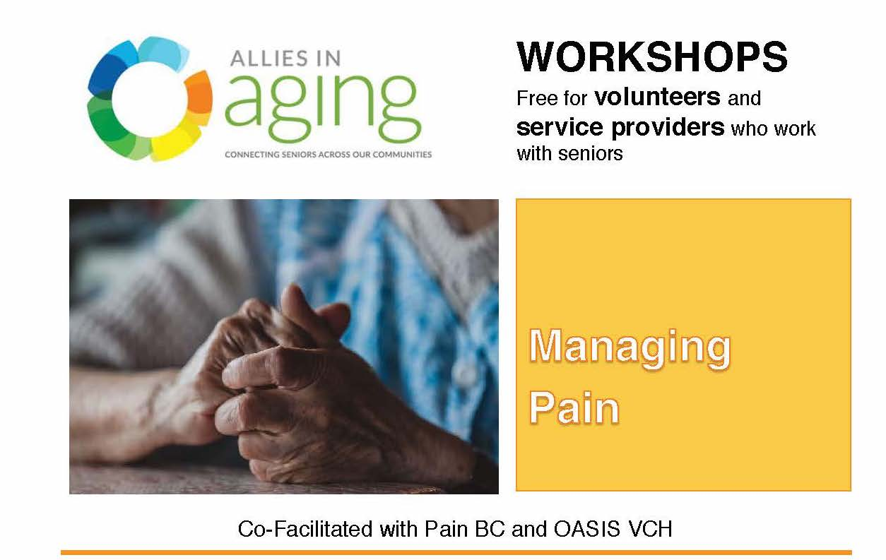 Managing Pain Workshop