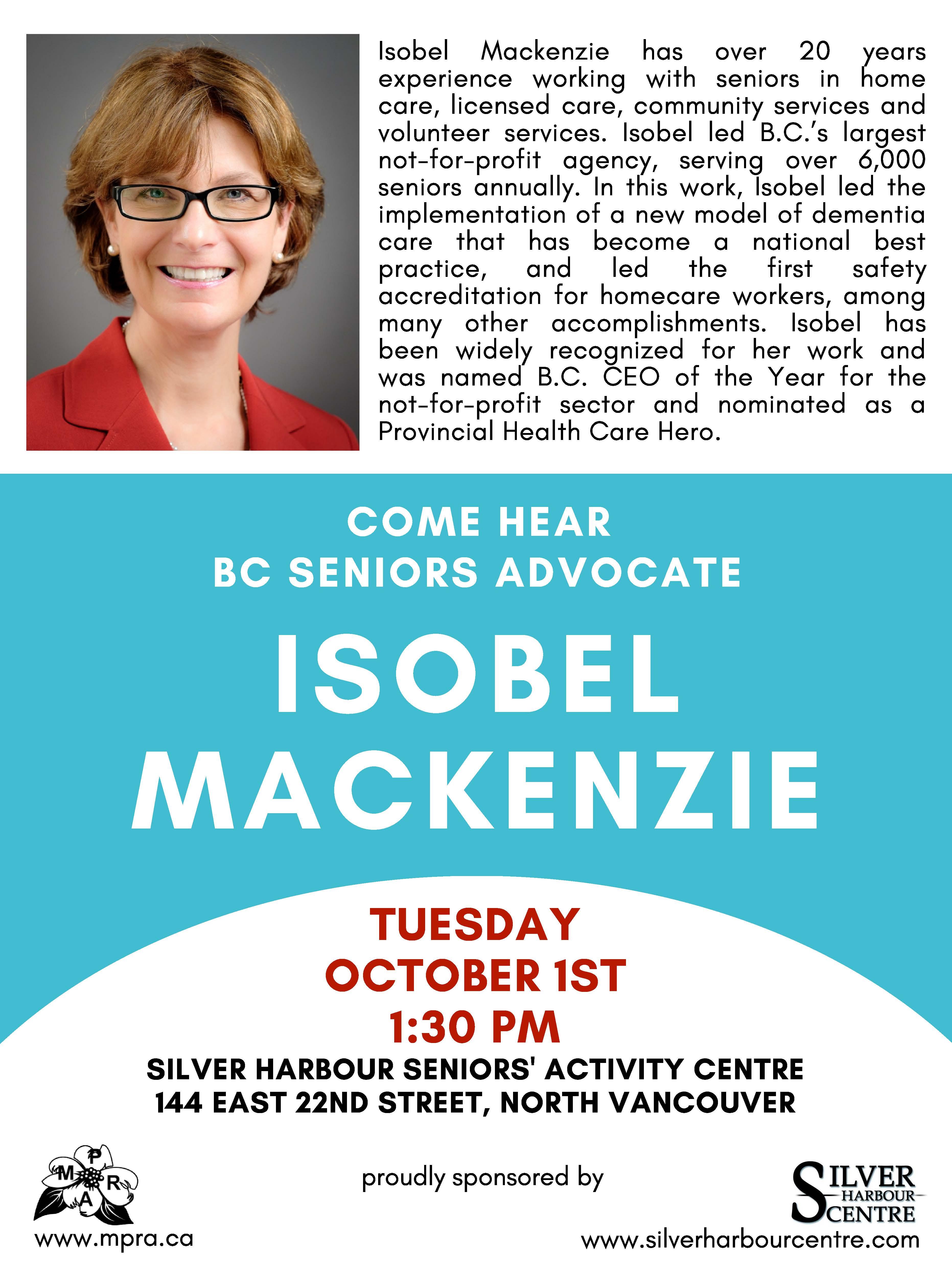 isobel mackenzie poster